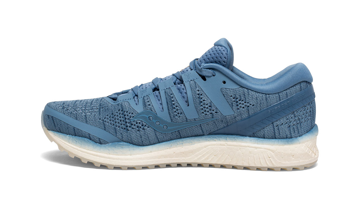 Women's Saucony Freedom ISO 2 Running Shoe - Color: Blue Shade (Regular Width) - Size: 11, Blue, large, image 2
