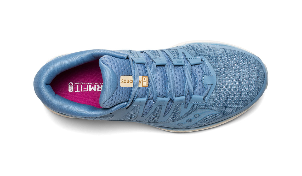 Women's Saucony Freedom ISO 2 Running Shoe - Color: Blue Shade (Regular Width) - Size: 11, Blue, large, image 3