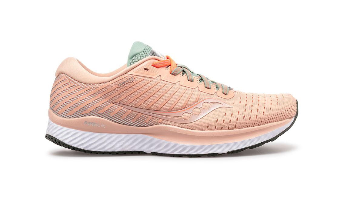 Women's Saucony Guide 13 Running Shoe - Color: Jackalope (Regular Width) - Size: 6, Pink, large, image 1