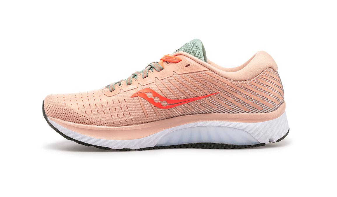 Women's Saucony Guide 13 Running Shoe - Color: Jackalope (Regular Width) - Size: 6, Pink, large, image 3