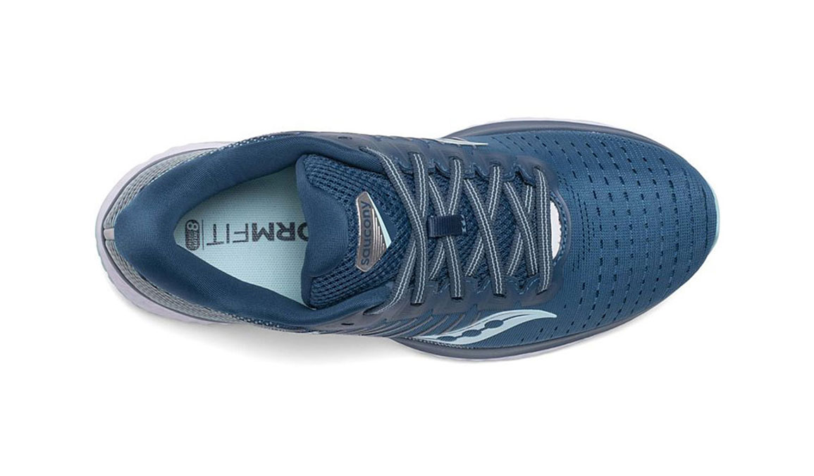 Women's Saucony Guide 13 Running Shoe - Color: Blue/Aqua (Regular Width) - Size: 7, Aqua, large, image 3