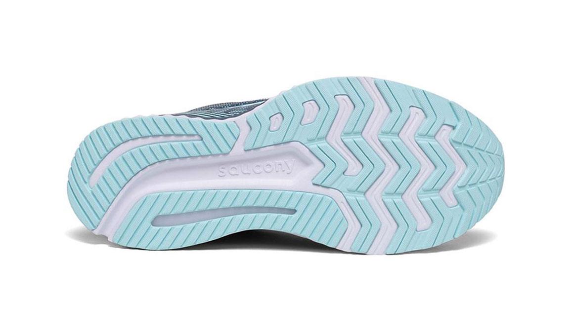 Women's Saucony Guide 13 Running Shoe - Color: Blue/Aqua (Regular Width) - Size: 7, Aqua, large, image 4
