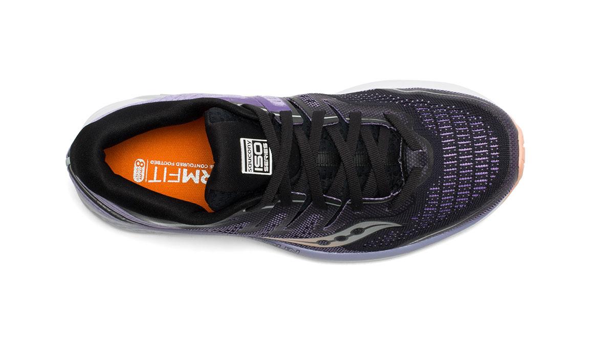Women's Saucony Guide ISO 2 Running Shoe - Color: Black/Purple (Regular Width) - Size: 10.5, Black/Purple, large, image 3
