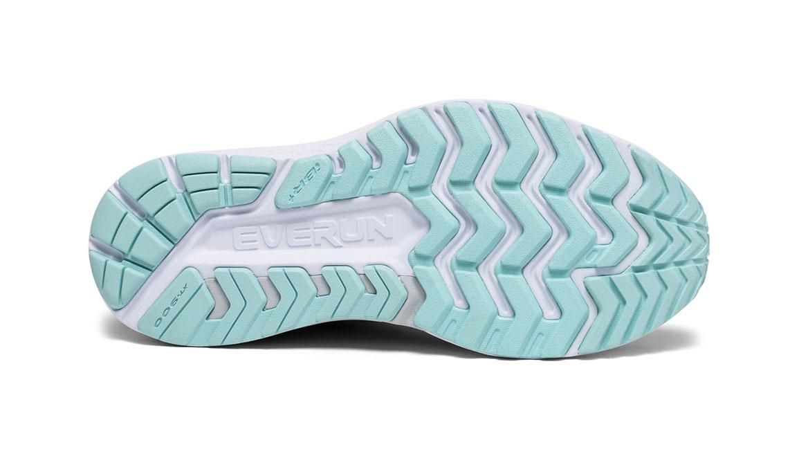 Women's Saucony Guide ISO 2 Running Shoe - Color: Slate/Aqua (Wide Width) - Size: 9.5, Slate, large, image 4