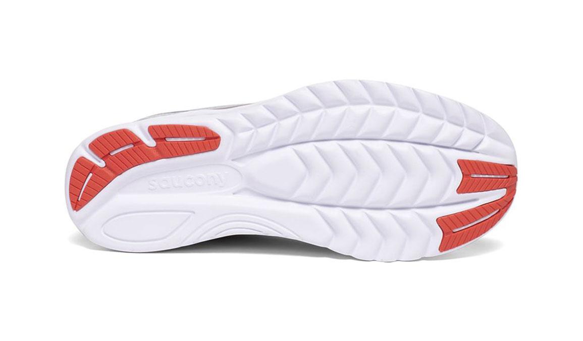 Women's Saucony Kinvara 11 Running Shoe - Color: Sky Grey/Coral (Regular Width) - Size: 7, Grey/Coral, large, image 4