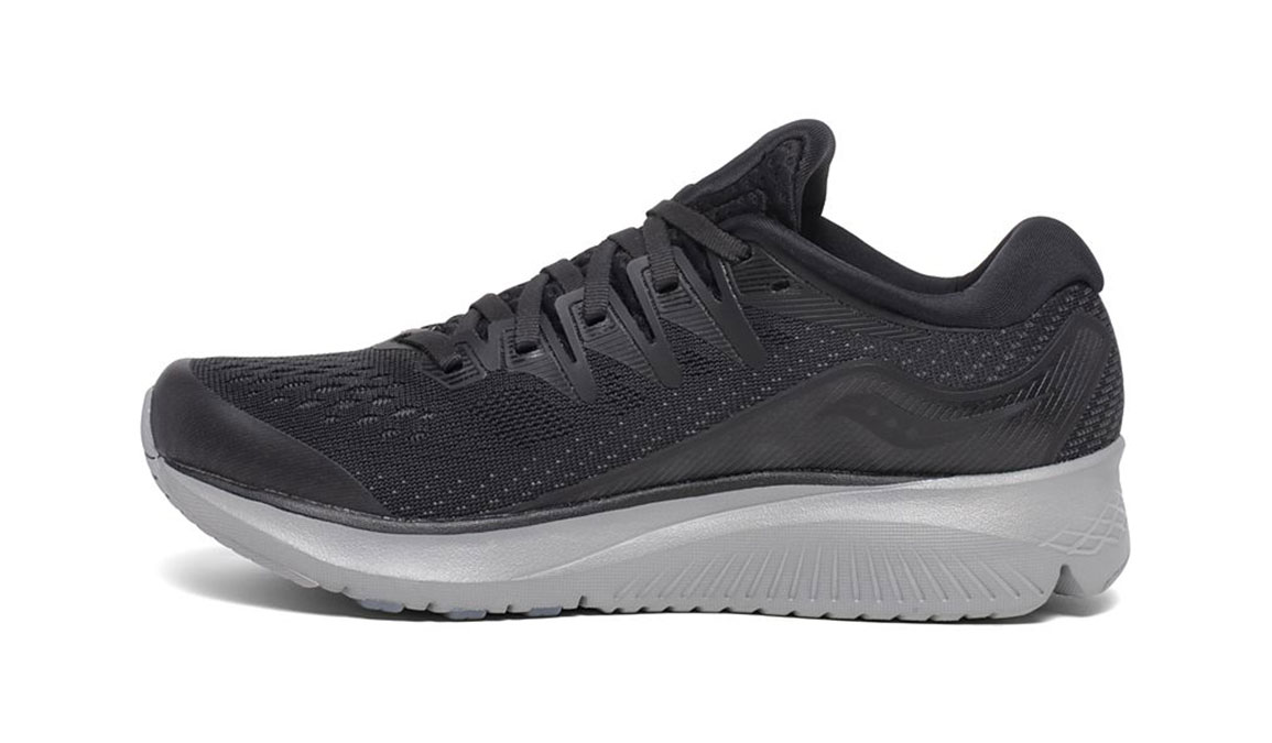 Women's Saucony Ride ISO 2 Running Shoe - Color: Blackout (Regular Width) - Size: 5, Black, large, image 2