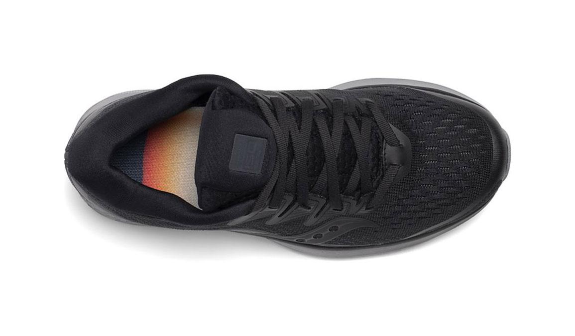 Women's Saucony Ride ISO 2 Running Shoe - Color: Blackout (Regular Width) - Size: 5, Black, large, image 3