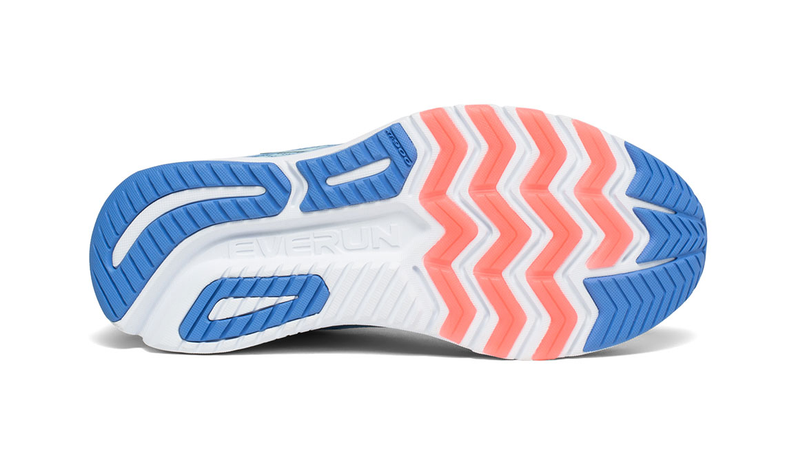 Women's Saucony Ride ISO 2 Running Shoe - Color: Blue/Coral (Regular Width) - Size: 6, Blue/Coral, large, image 4