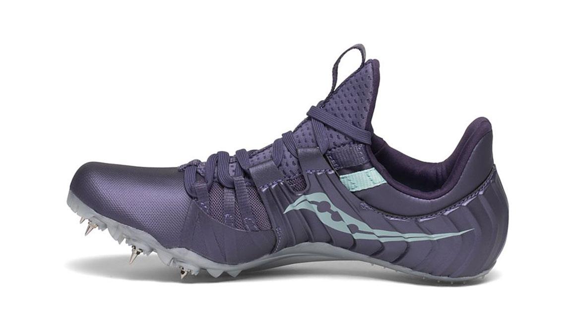 Women's Saucony Showdown 5 Track Spikes - Color: Haze (Regular Width) - Size: 6, Purple, large, image 2