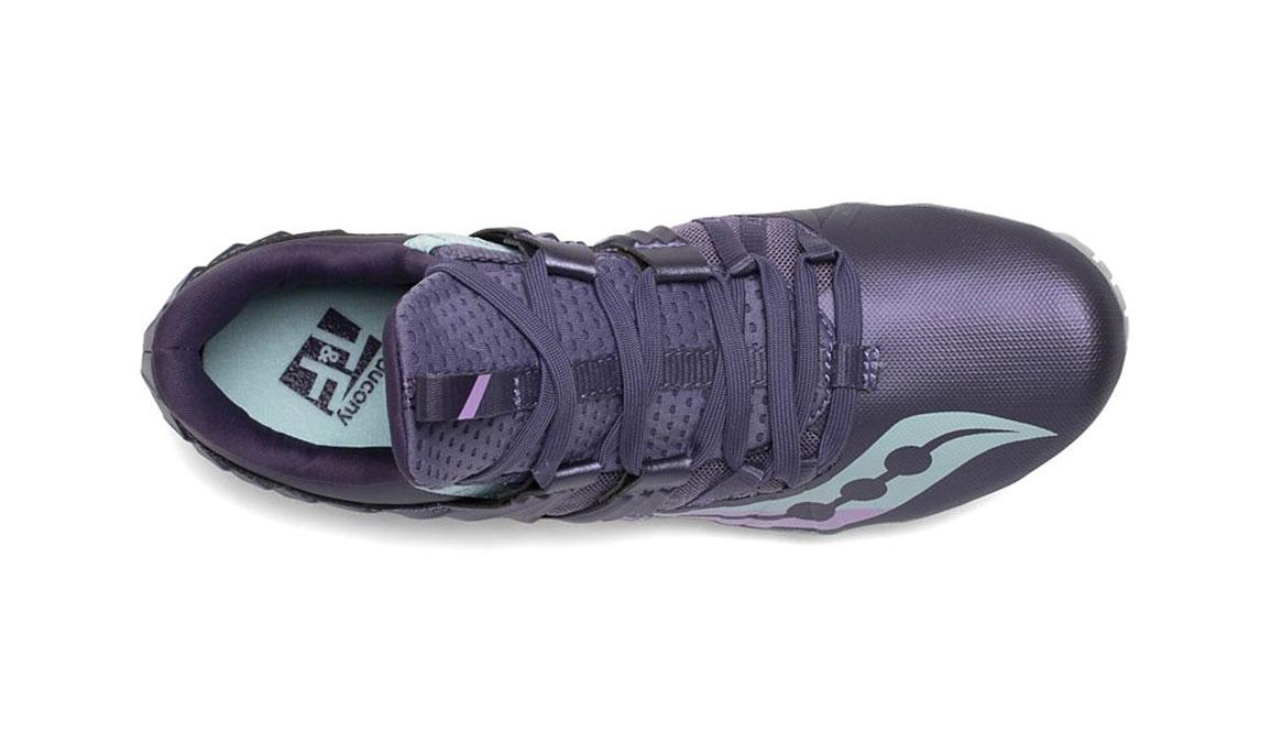 Women's Saucony Showdown 5 Track Spikes - Color: Haze (Regular Width) - Size: 6, Purple, large, image 3