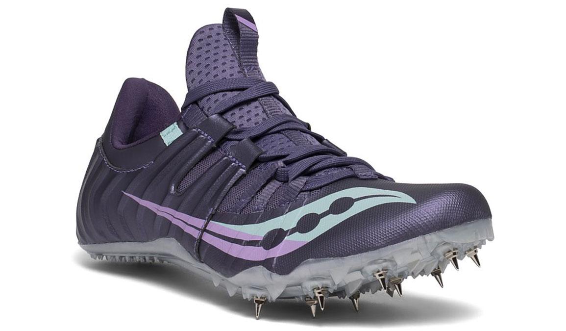 Women's Saucony Showdown 5 Track Spikes - Color: Haze (Regular Width) - Size: 6, Purple, large, image 5
