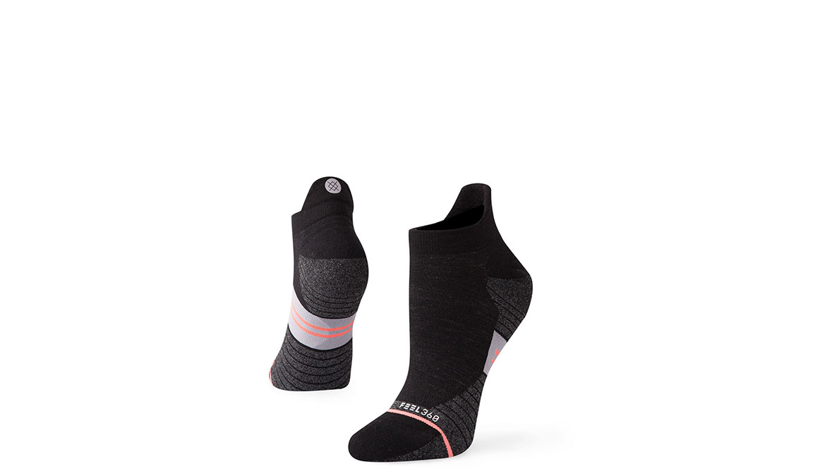 Women's Stance Bike Solid Wool Tab - Color: Black Size: M, Black, large, image 1