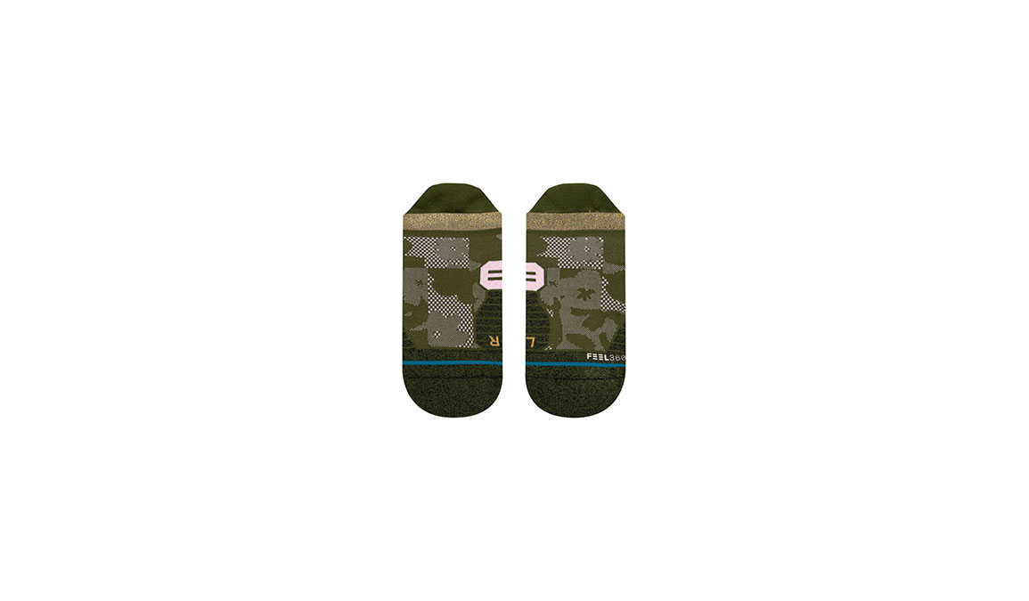 Women's Stance Caught It Up Tab - Color: Olive Size: S, Olive, large, image 2