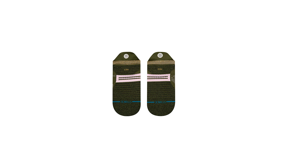 Women's Stance Caught It Up Tab - Color: Olive Size: S, Olive, large, image 3