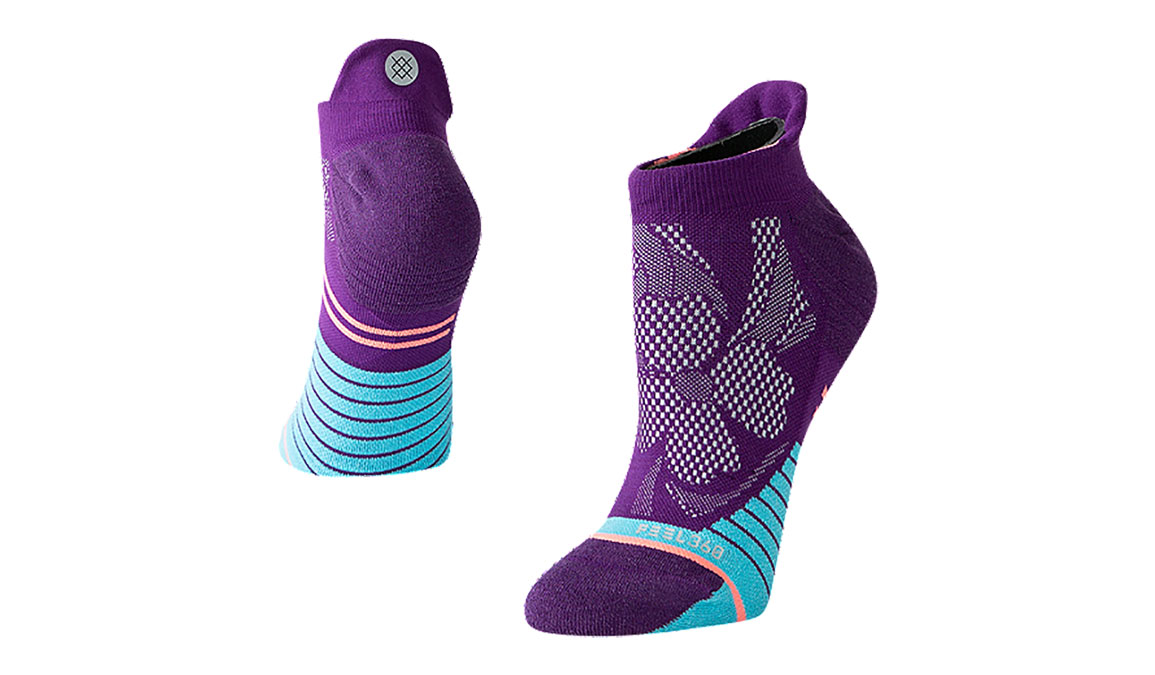 Women's Stance Get Back Tab - Color: Purple Size: S, Purple, large, image 1