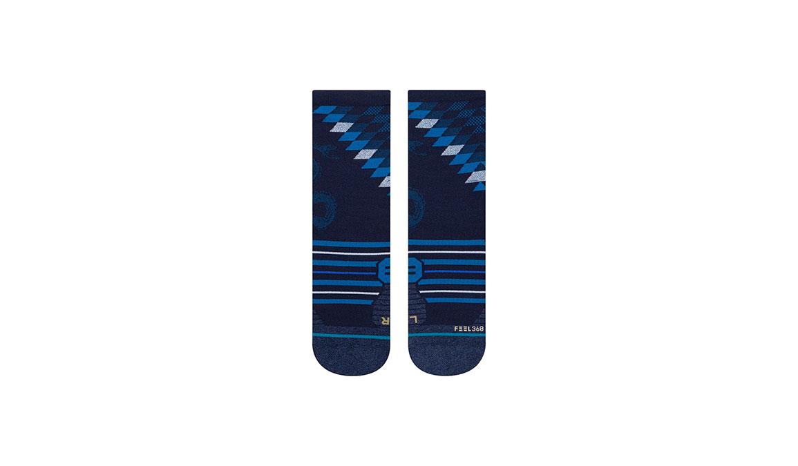 Women's Stance Slithering Crew - Color: Blue Size: S, Blue, large, image 2