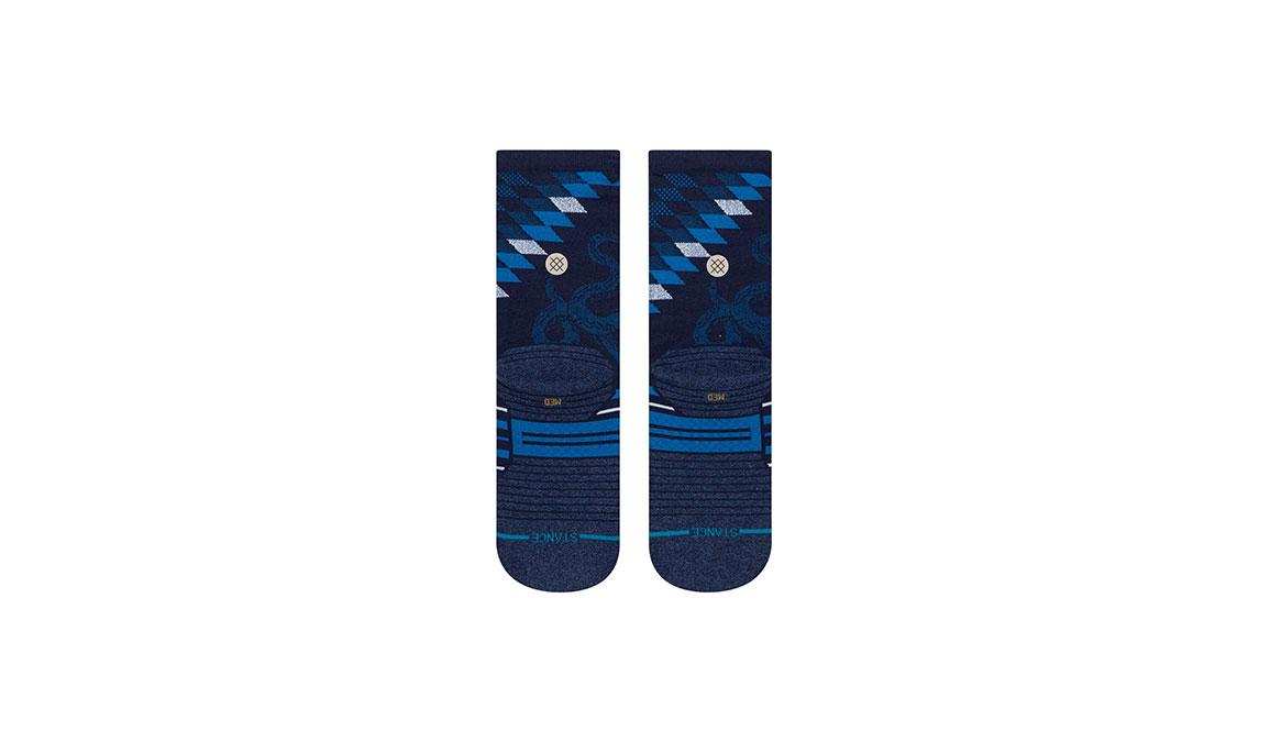 Women's Stance Slithering Crew - Color: Blue Size: S, Blue, large, image 3