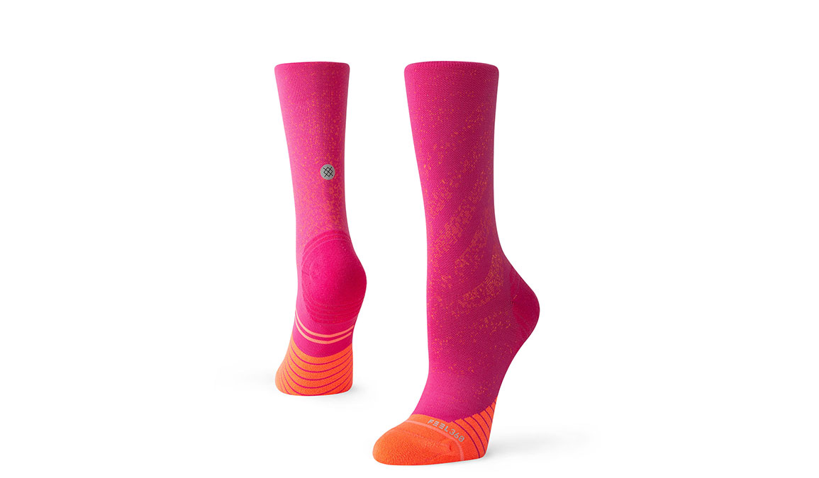Women's Stance Uncommon Run Crew - Color: Pink Size: S, Pink, large, image 1