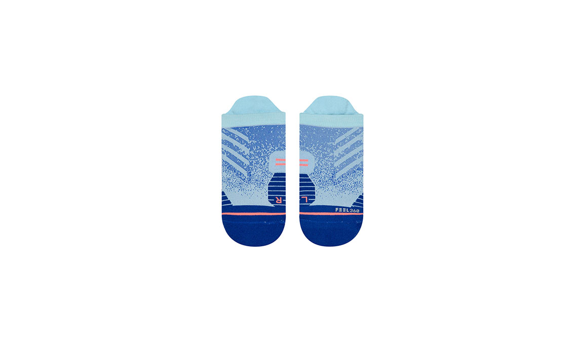 Women's Stance Uncommon Run Tab  - Color: Baby Blue Size: M, Blue/Blue, large, image 2