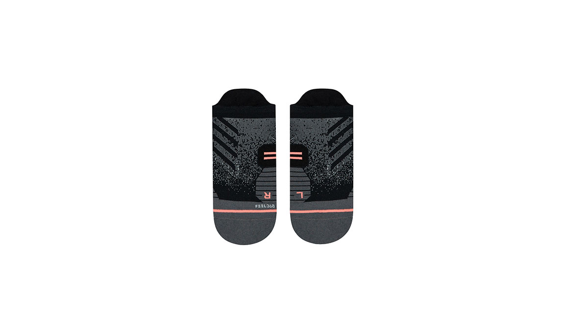 Women's Stance Uncommon Run Tab  - Color: Black Size: M, Black, large, image 2