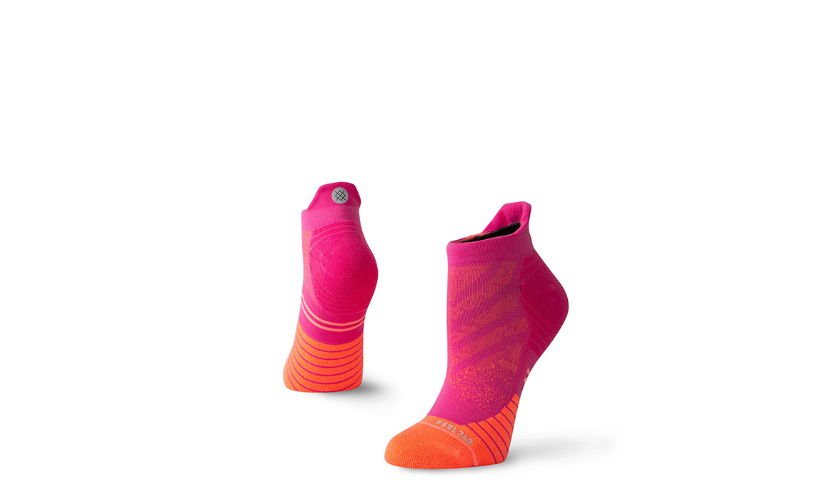 Women's Stance Uncommon Run Tab  - Color: Pink Size: S, Pink, large, image 1