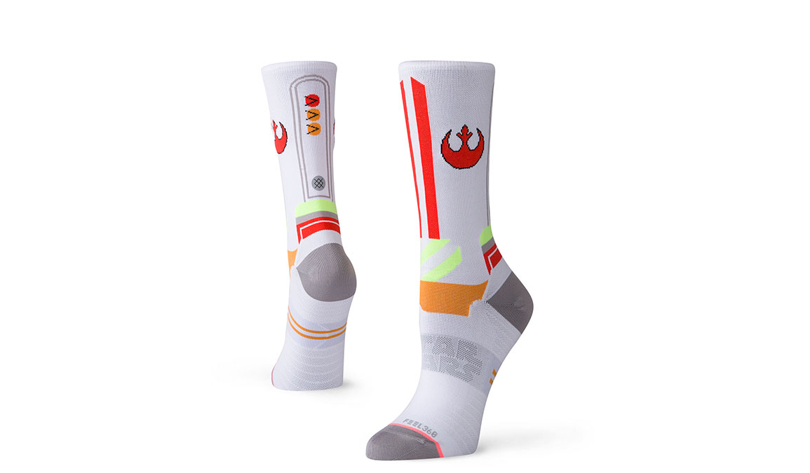 Women's Stance X-Wing Crew - Color: White Size: M, White, large, image 1