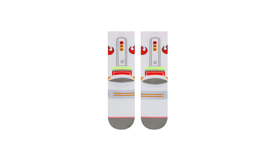 Women's Stance X-Wing Crew - Color: White Size: M, White, large, image 3
