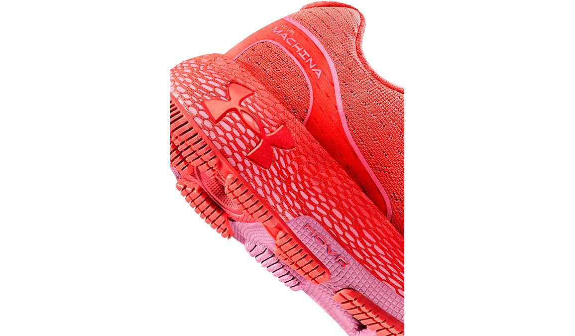 Women's Under Armour UA HOVR Machina Running Shoe - Color: Beta/Lipstick (Regular Width) - Size: 5, Beta/Lipstick, large, image 3