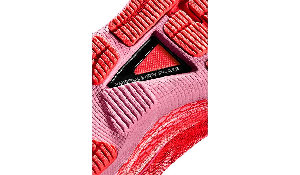 Women's Under Armour UA HOVR Machina Running Shoe - Color: Beta/Lipstick (Regular Width) - Size: 5, Beta/Lipstick, large, image 4