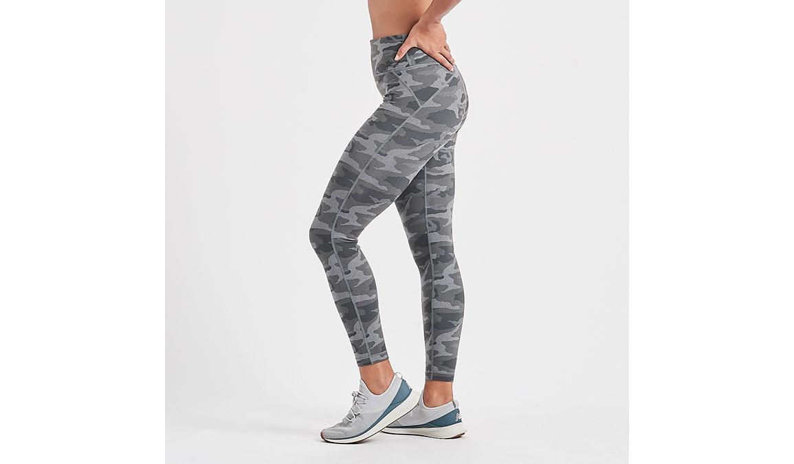 Women's Vuori Caspian Legging - Color: Heather Grey Camo Size: XS, Heather Grey Camo, large, image 2