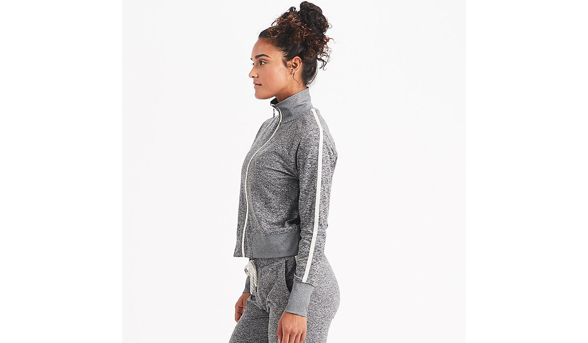 Women's Vuori Eclipse Track Jacket - Color: Heather Grey Size: XS, Heather Grey, large, image 2
