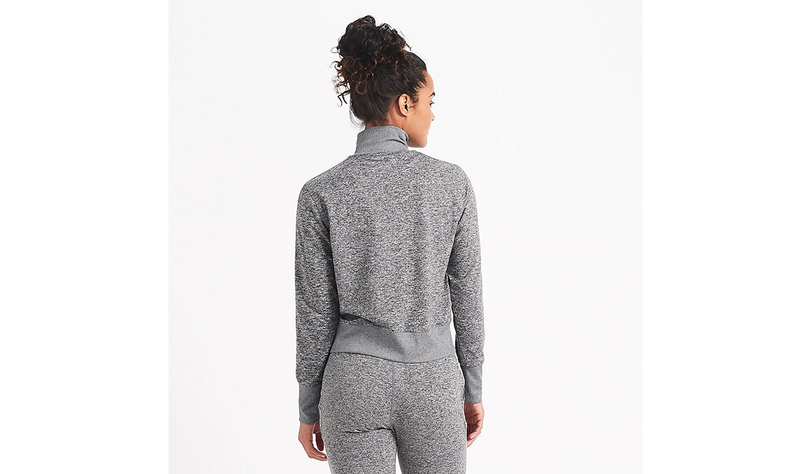 Women's Vuori Eclipse Track Jacket - Color: Heather Grey Size: XS, Heather Grey, large, image 3