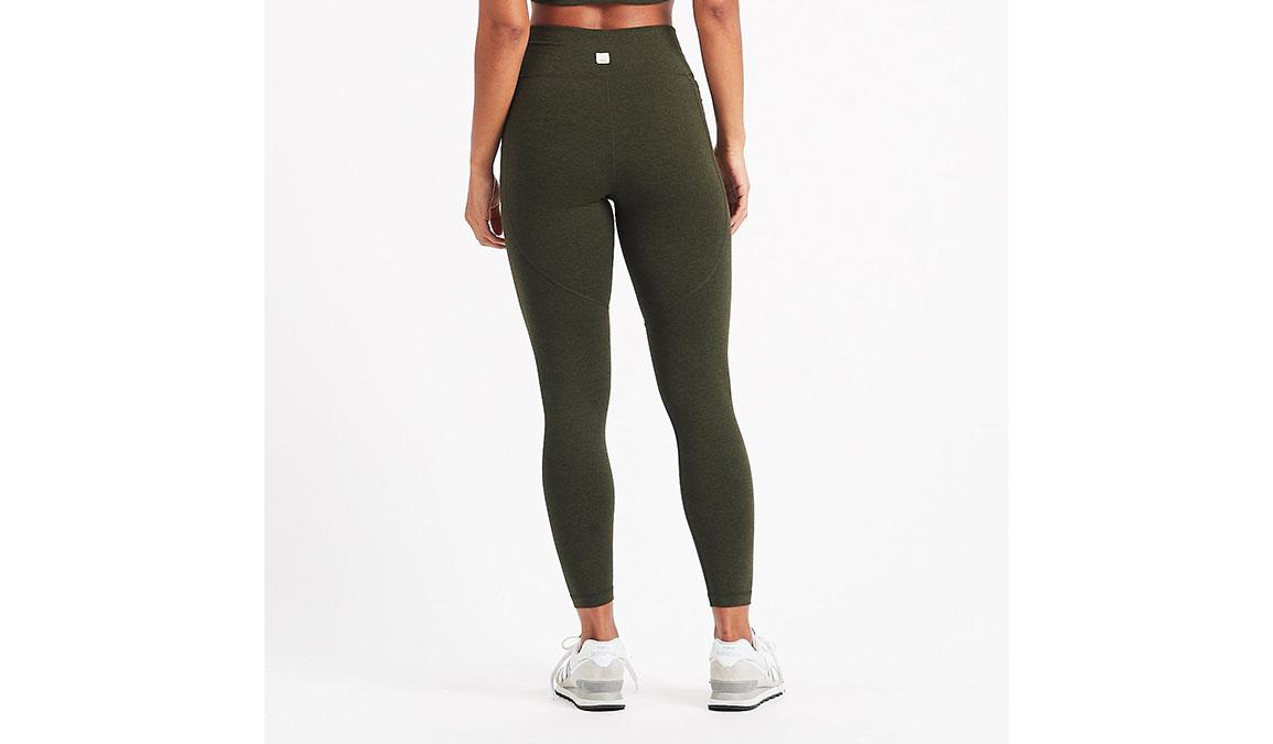 Women's Vuori Elevation Performance Leggings - Color: Evergreen Heather Size: XS, Evergreen Heather, large, image 3