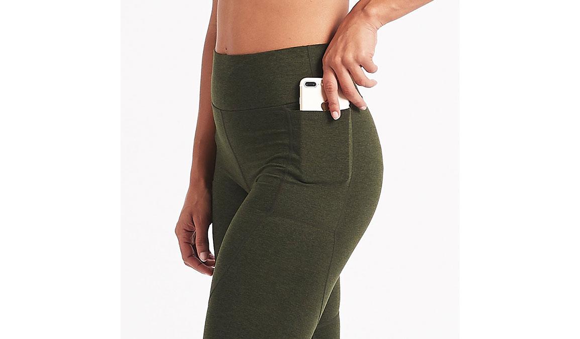 Women's Vuori Elevation Performance Leggings - Color: Evergreen Heather Size: XS, Evergreen Heather, large, image 4
