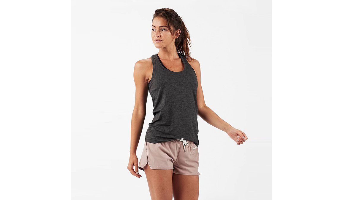 Women's Vuori Lux Performance Tank - Color: Charcoal Heather Size: XS, Charcoal Heather, large, image 1