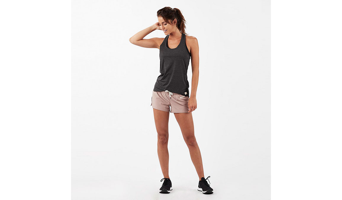 Women's Vuori Lux Performance Tank - Color: Charcoal Heather Size: XS, Charcoal Heather, large, image 2