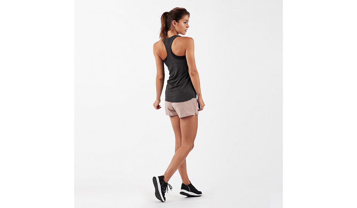 Women's Vuori Lux Performance Tank - Color: Charcoal Heather Size: XS, Charcoal Heather, large, image 3