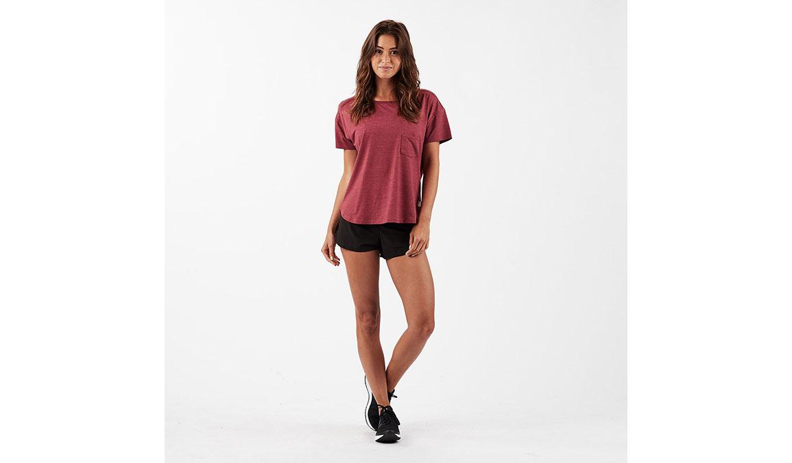 """Women's Vuori Omni 2.5"""" Shorts - Color: Black Size: XS, Black, large, image 2"""