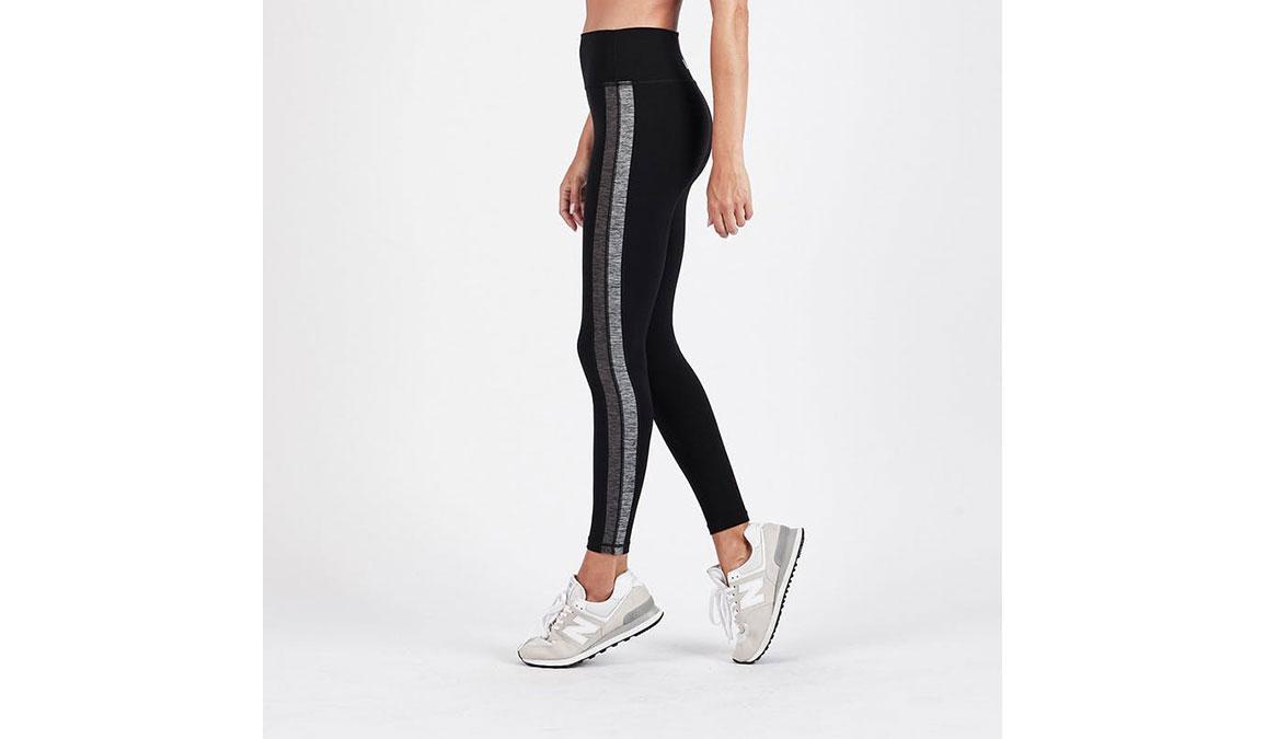 Women's Vuori Racer High Rise 7/8 Legging - Color: Black Size: XS, Black, large, image 2