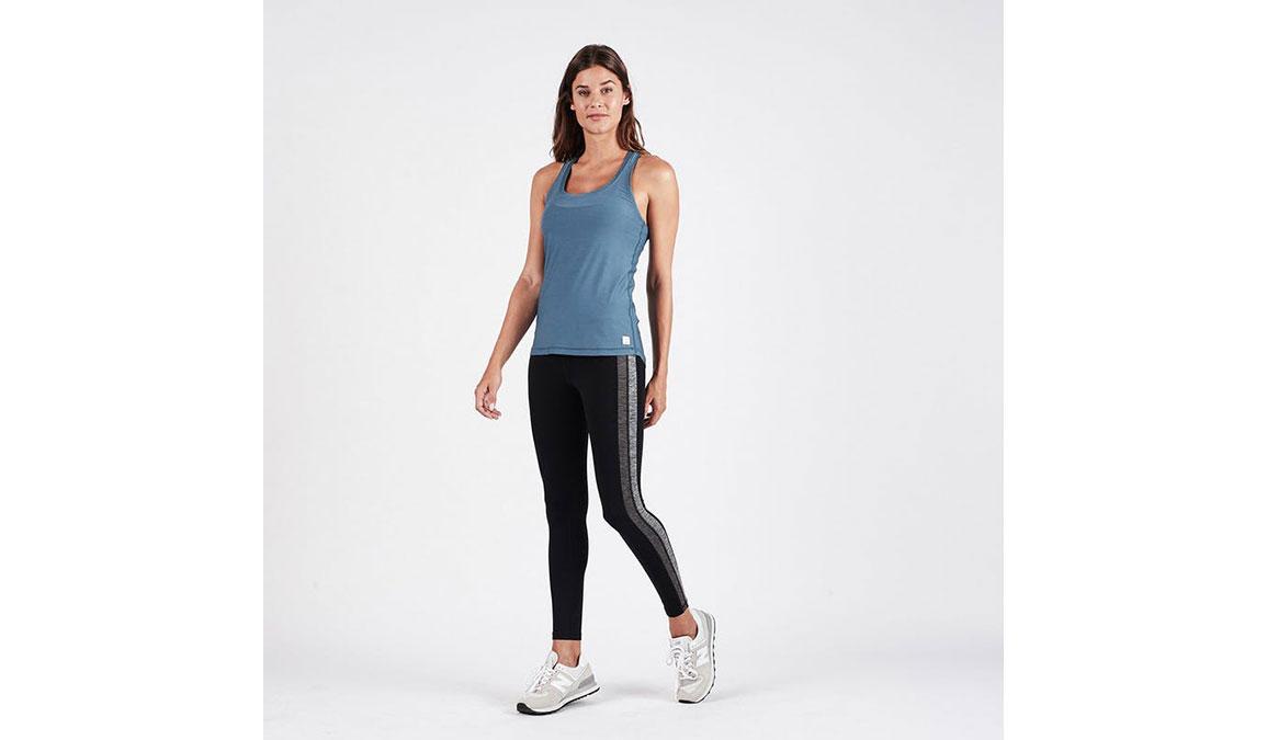 Women's Vuori Racer High Rise 7/8 Legging - Color: Black Size: XS, Black, large, image 4