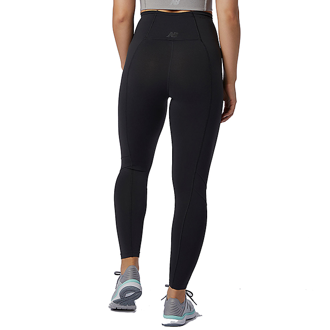 Women's New Balance Transform High Rise 7/8 Pocket Tight, , large, image 2