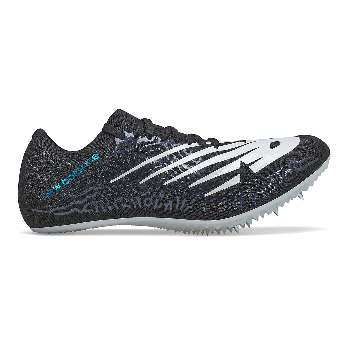 Women's New Balance Sigma Aria Track Spikes - Color: Black/White - Size: 5.5 - Width: Regular, Black/White, large, image 1