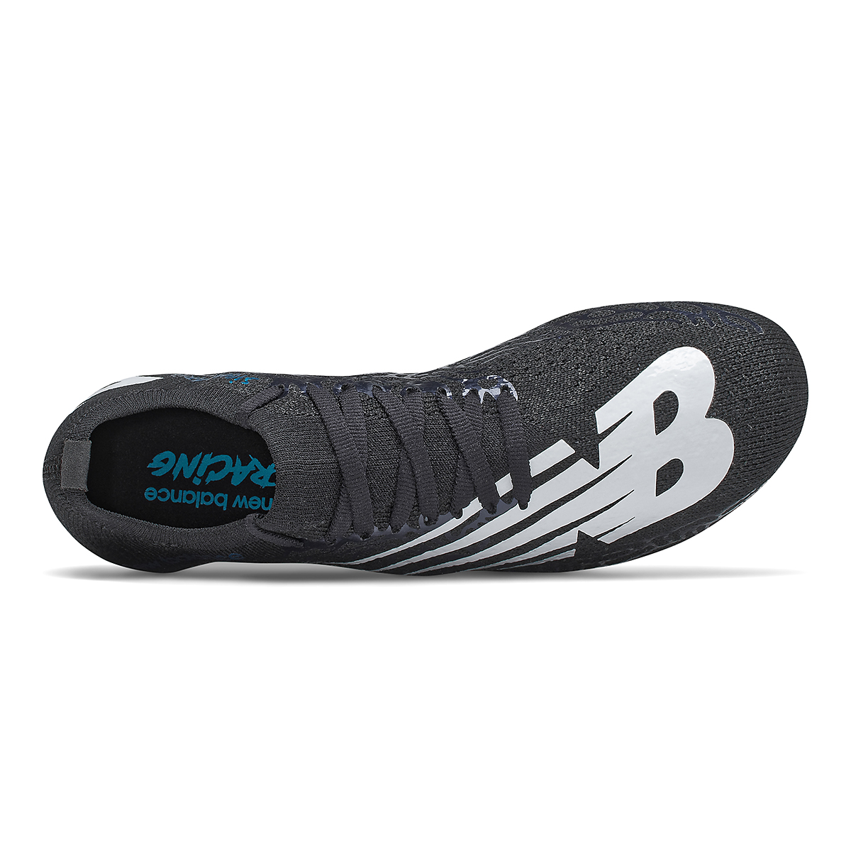 Women's New Balance Sigma Aria Track Spikes - Color: Black/White - Size: 5.5 - Width: Regular, Black/White, large, image 3