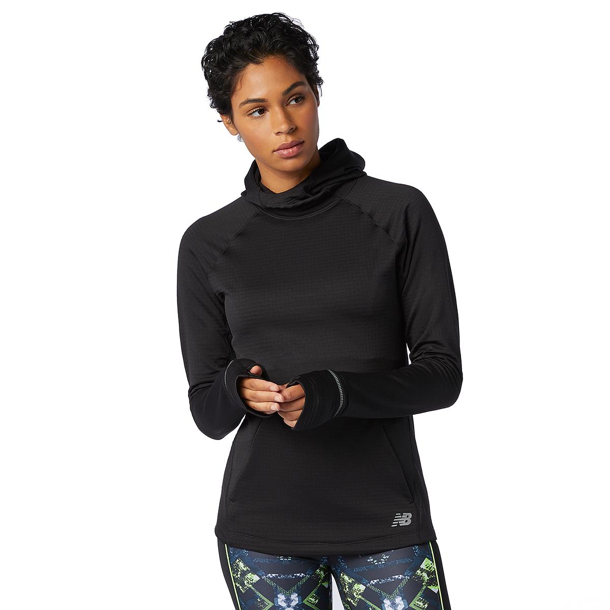 Women's New Balance Heat Grid Hoodie, , large, image 1