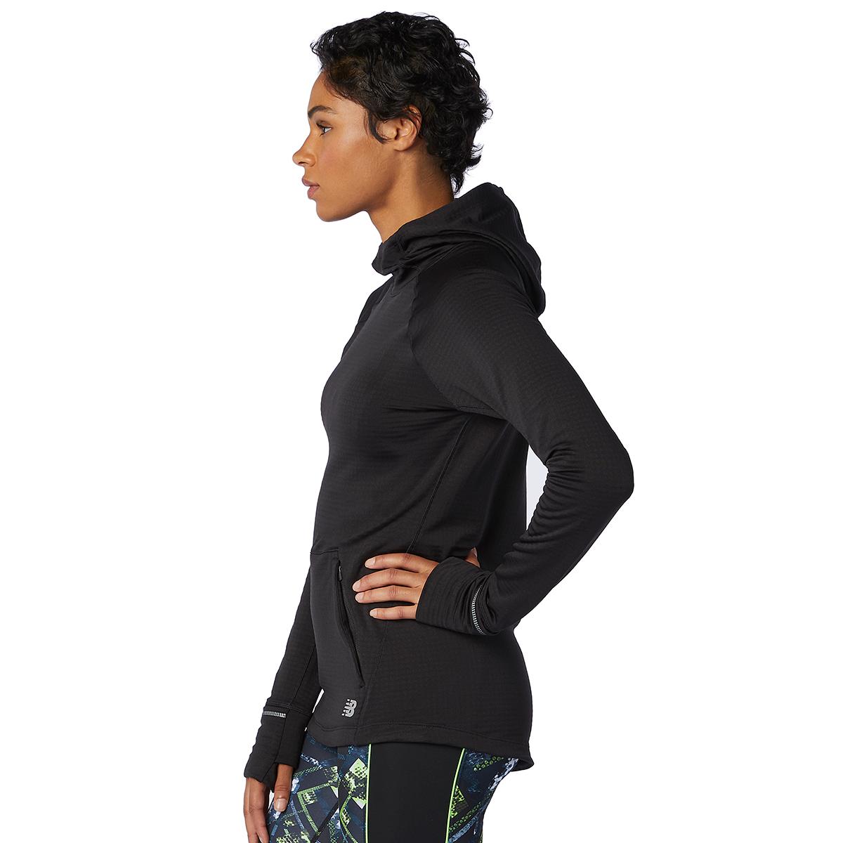 Women's New Balance Heat Grid Hoodie, , large, image 2