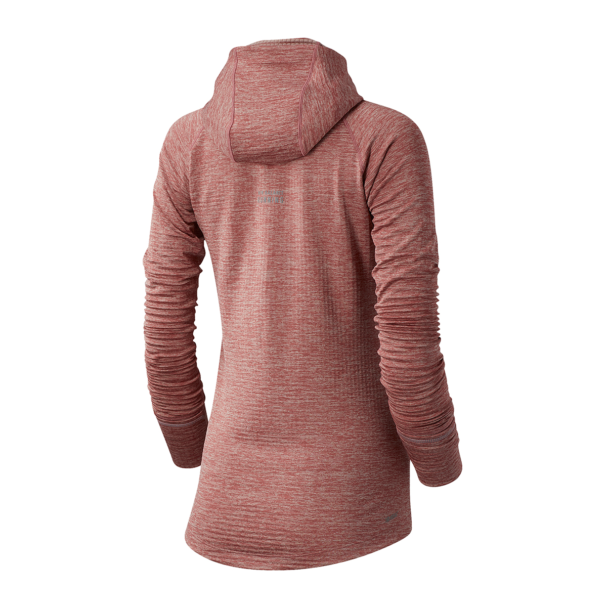 Women's New Balance Heat Grid Hoodie - Color: Pink - Size: XS, Pink, large, image 2