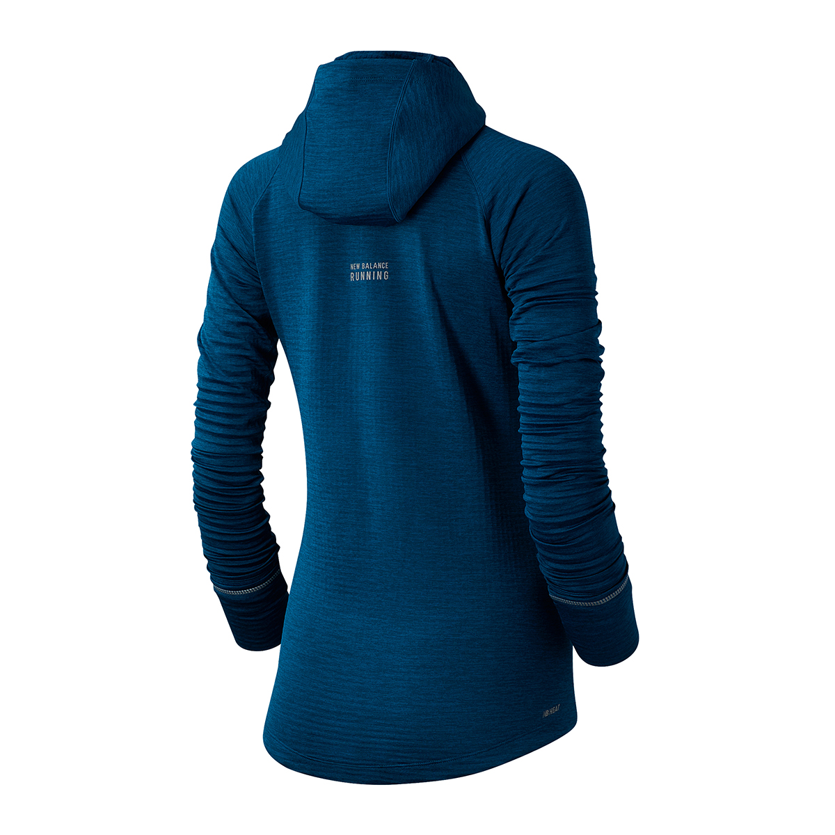 Women's New Balance Heat Grid Hoodie - Color: Rogue Wave - Size: XS, Rogue Wave, large, image 2