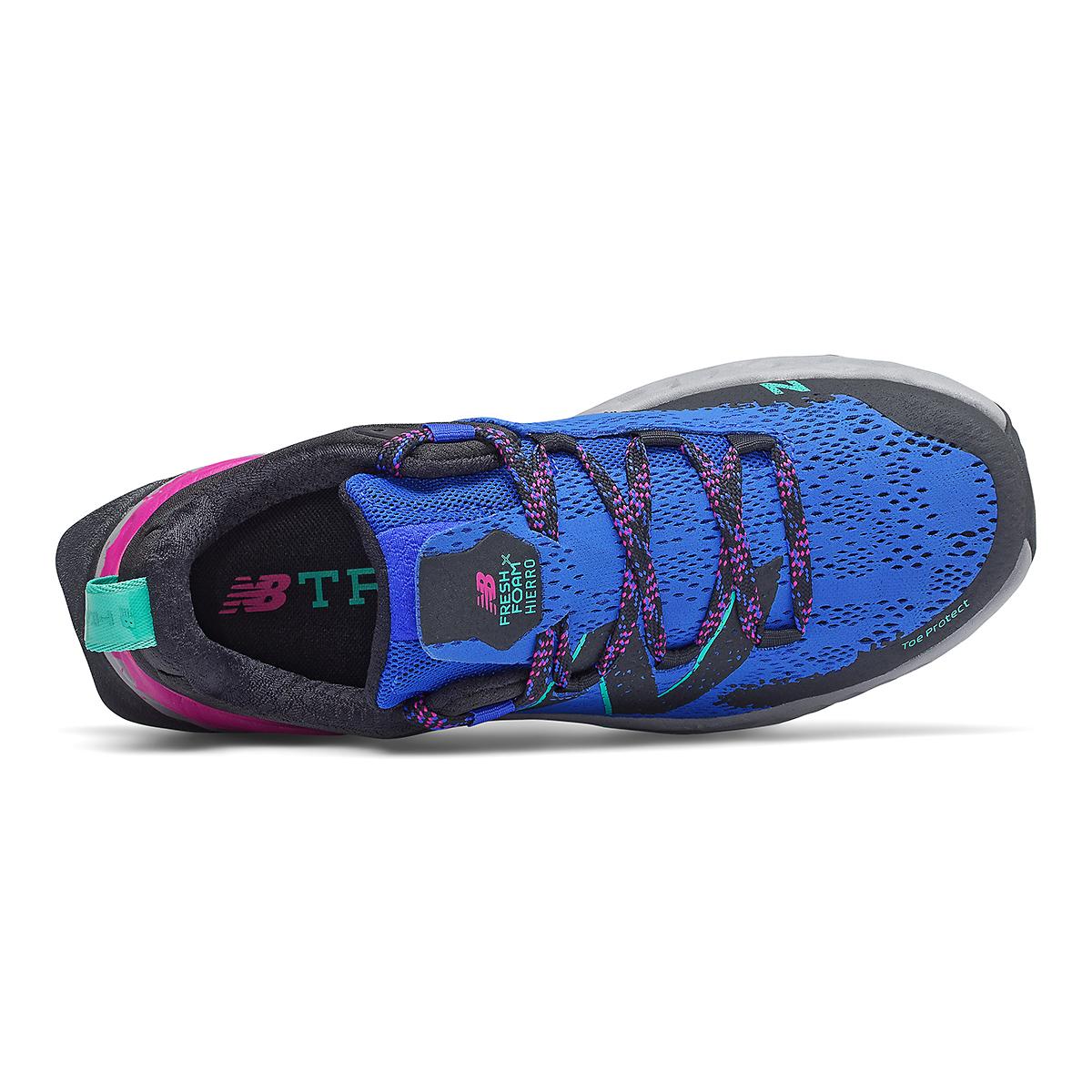 Women's New Balance Hierro V5 Running Shoe - Color: Cobalt - Size: 5.5 - Width: Regular, Cobalt, large, image 3