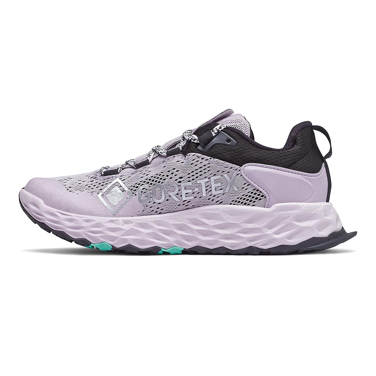 Women's New Balance Hierro V5 Gore-Tex Running Shoe - Color: Mystic Purple - Size: 6 - Width: Regular, Mystic Purple, large, image 2