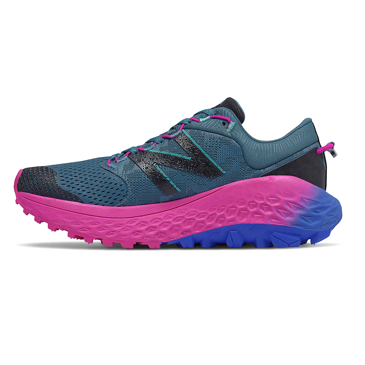 Women's New Balance Fresh Foam More Trail V1 Running Shoe - Color: Jet Stream - Size: 5.5 - Width: Extra Wide, Jet Stream, large, image 2